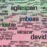 La comunidad agile de la CAS 2012 en twiiter - Visualización